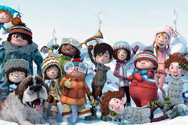 СНІГОВА БИТВА Канада, 2015. 15 кращих новорічних мультфільмів для дітей