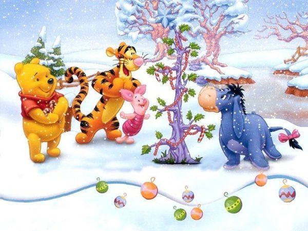 Вінні Пух: час дарувати подарунки США, 1999. 15 кращих новорічних мультфільмів для дітей