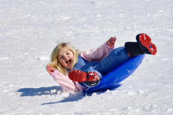 Повітряний захист - як одягнути дитину на зимову прогулянку