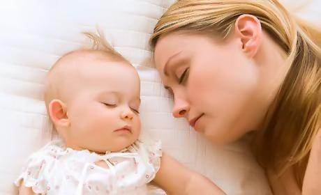 Сон разом з мамою