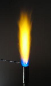 Фарбування полум'я або реакція сполуки
