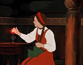 """Червоненька квіточка (""""Аленький цветочек"""") (1952) - онлайн і завантажити"""