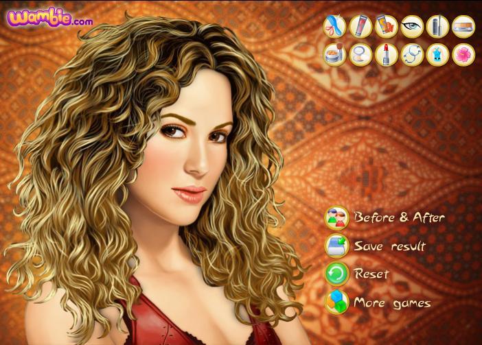 Онлайн макіяж з Шакірою