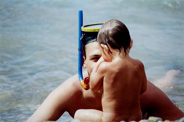 З татом на морі
