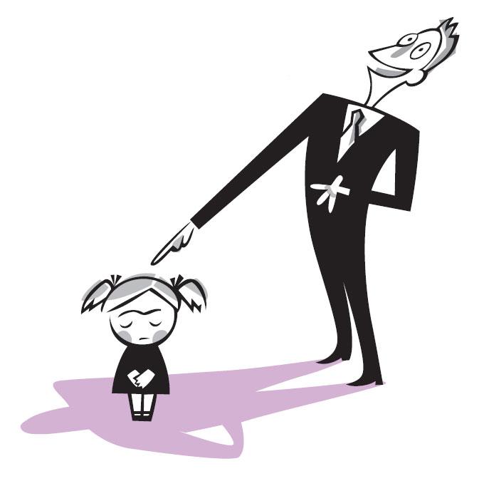 Негативні методи покарання дитини: Приниження і глузування