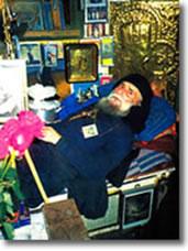 Монах Гавриїл Урґебадзе. Хвороба