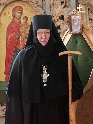 Ігуменя Миколая (Ільїна), настоятелька Свято-Нікольського Чорноострівського жіночого монастиря міста Малоярославець