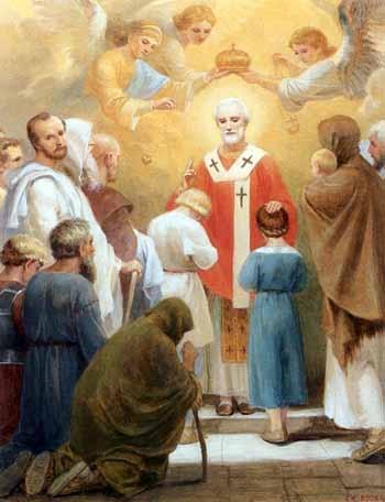 Допомога Святого Микола. Аспірантура