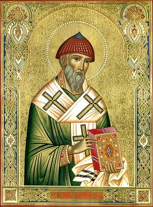 Святитель Спиридон Тримифунтський