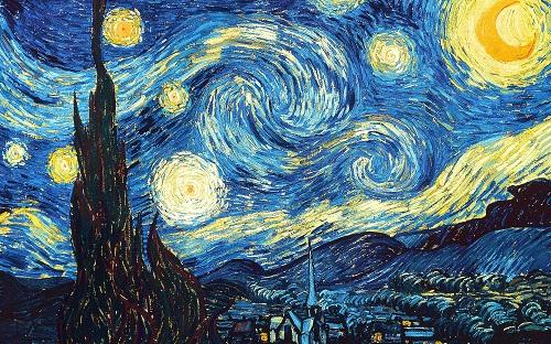 """""""Зоряна ніч"""", Ван Гог"""