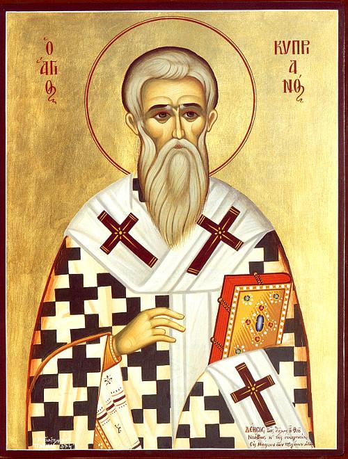 Акафіст священомученику Кипріяну