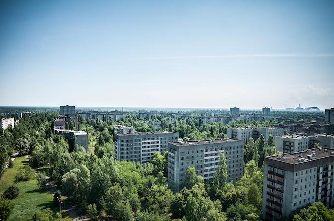 Прип'ять - покинуте місто