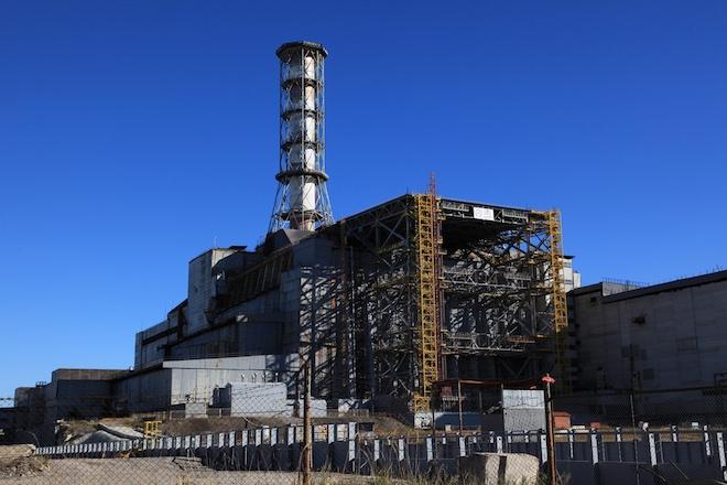 Саркофаг для реактивного матеріалу в Чорнобилі