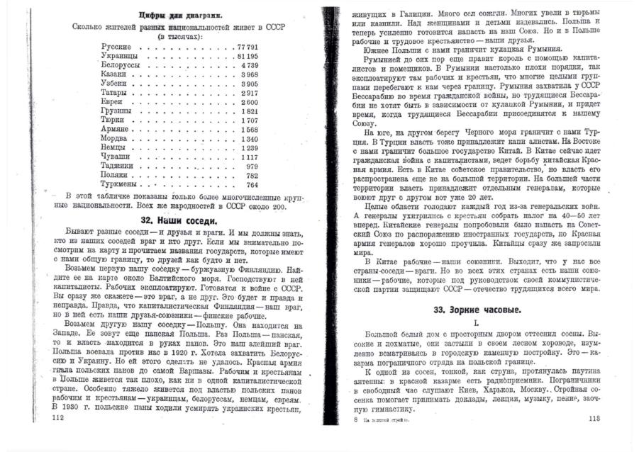 На великой стройке, Ленинград, 1931, статистика населення
