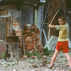 Дитинство без інтернету. Стрільба з саморобного лука