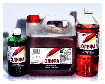 Як позбутися запаху оліфи