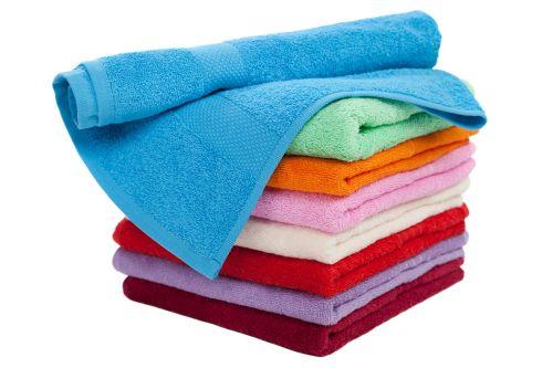 Як прати махрові рушники