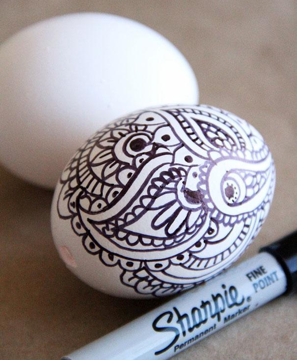 Яйця з візерунками